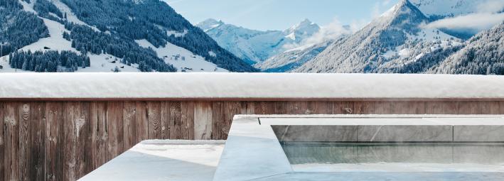 The Alpina Gstaad - Piscina da Suíte